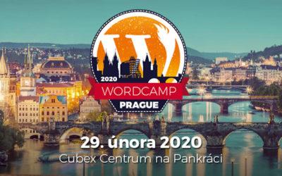 Pozvánka na WordCamp Praha 2020