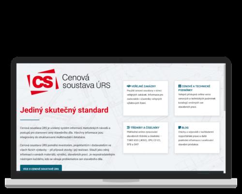 Bruno Dirbák - Tvorba webu pro Cenovou soustavu ÚRS