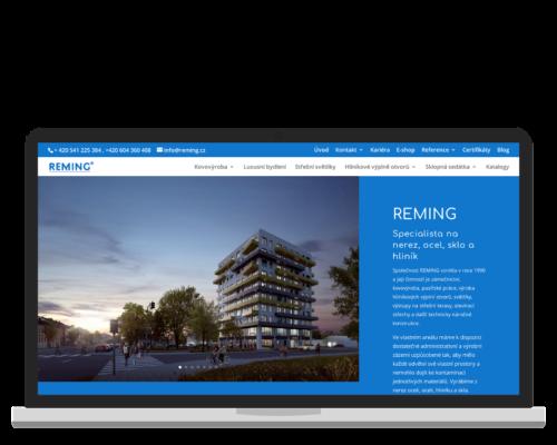 Bruno Dirbák - Tvorba webu pro Reming