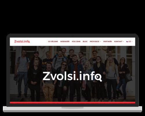 Bruno Dirbák - Tvorba webu pro Zvol si info